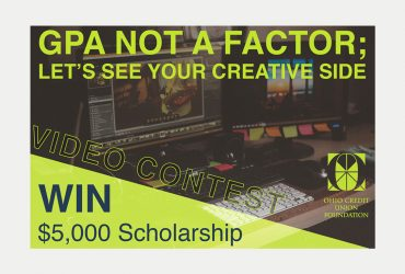 Ohio Credit Union Foundation Video Scholarship | $5,000 Scholarship, GPA not a factor