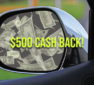 Earn a 2% cash back rebate by refinancing your auto loan