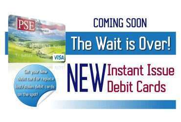 NEW Instant Issue Debit Cards