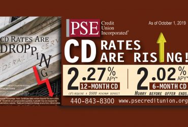Our CD Rates Are Rising!