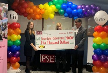 PSE Credit Union Donates to Rainbow Babies and Children's Hospital