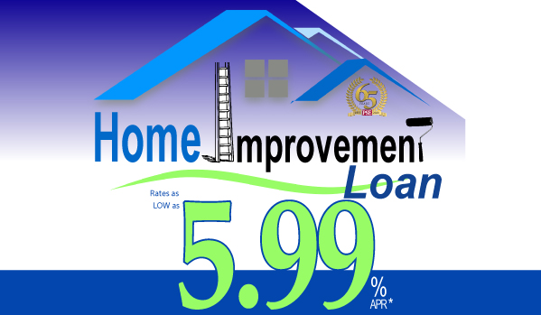 Home Improvement Loan 5.99 rate