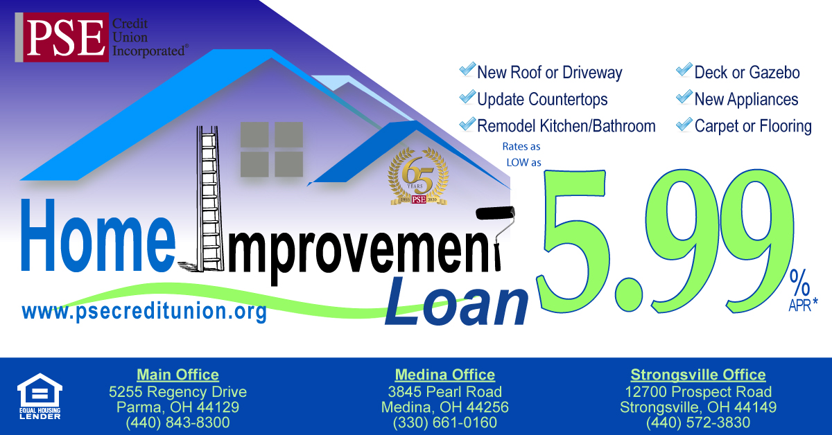 Home Improvement Loan web banner
